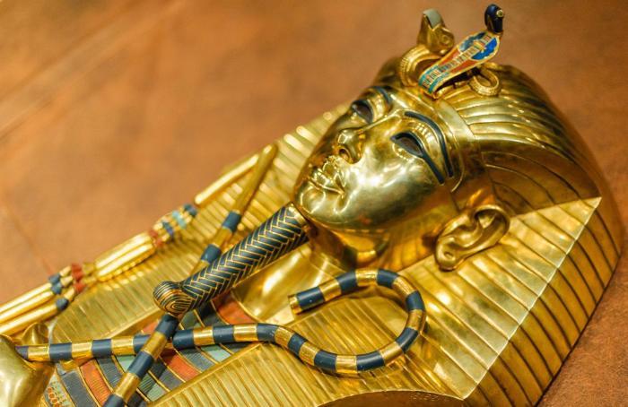 Саркофаг Тутанхамона.