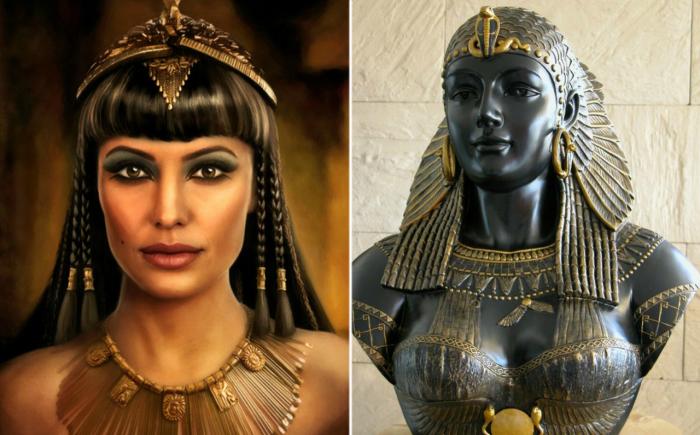 Как могла выглядеть царица Египта.