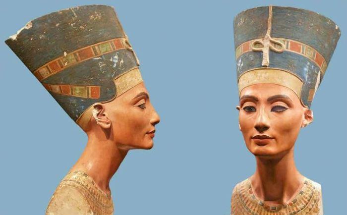 Бюст Нефертити.