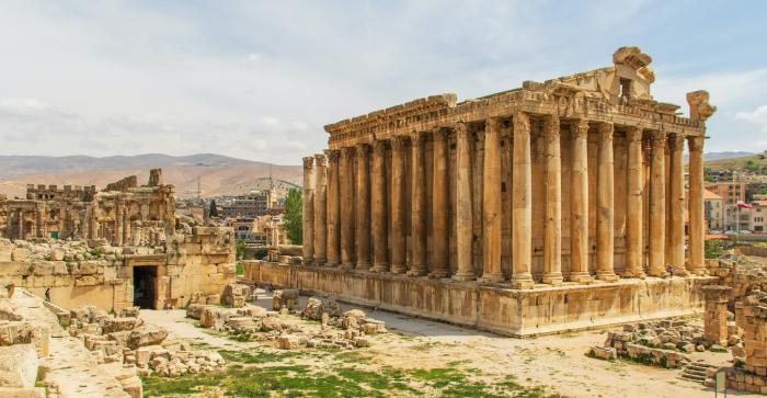 Римский Храм в Баальбеке, Ливан. \ Фото: arabnews.com.
