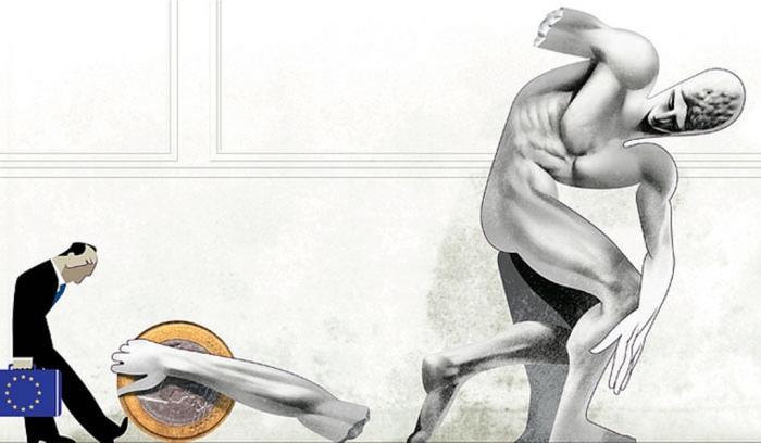 Греческая экономика. Автор: Andre Carrilho.