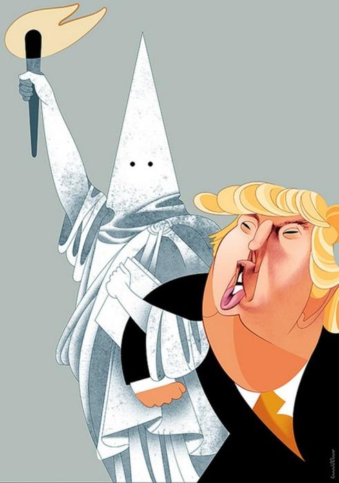 Америка Дональда Трампа. Автор: Andre Carrilho.