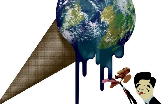 Глобальное потепление. Автор: Andre Carrilho.