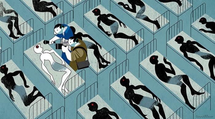 Эбола. Автор: Andre Carrilho.
