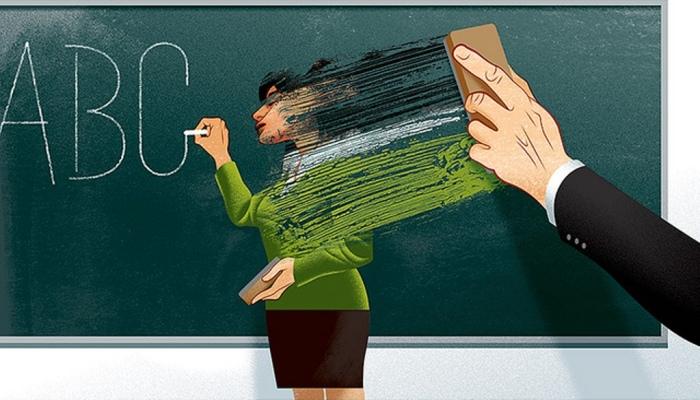 Учителя. Автор: Andre Carrilho.