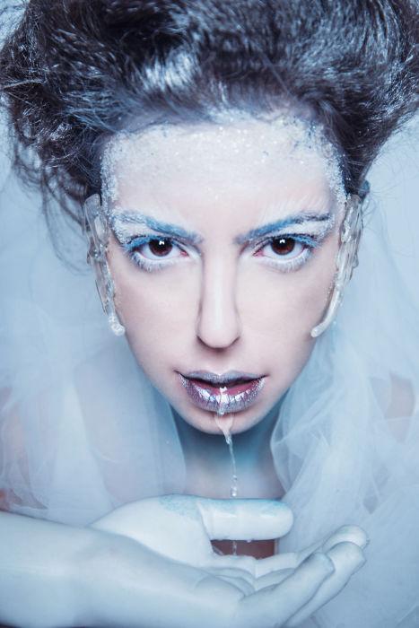 Снежная королева. Автор: Andreea Zamfirescu.