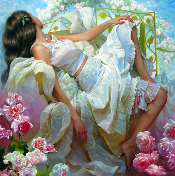 Благоухание роз. Авторы: Андрей Беличенко и Мария Бухтиярова.