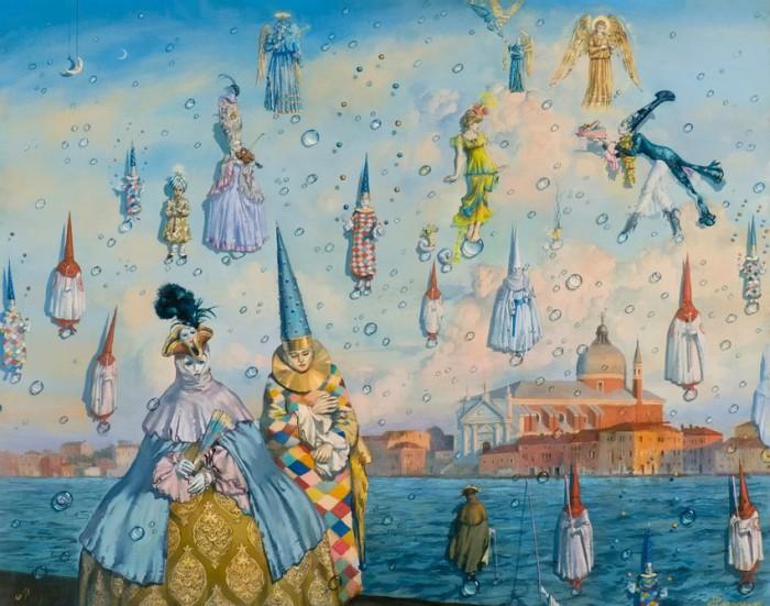 Маски Венеции. Автор: Андрей Потеряйло.