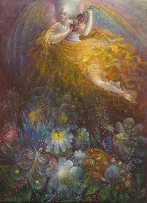 Истина выйдет из земли и праведность посмотрит вниз с небес. Автор: Анелия Павлова.