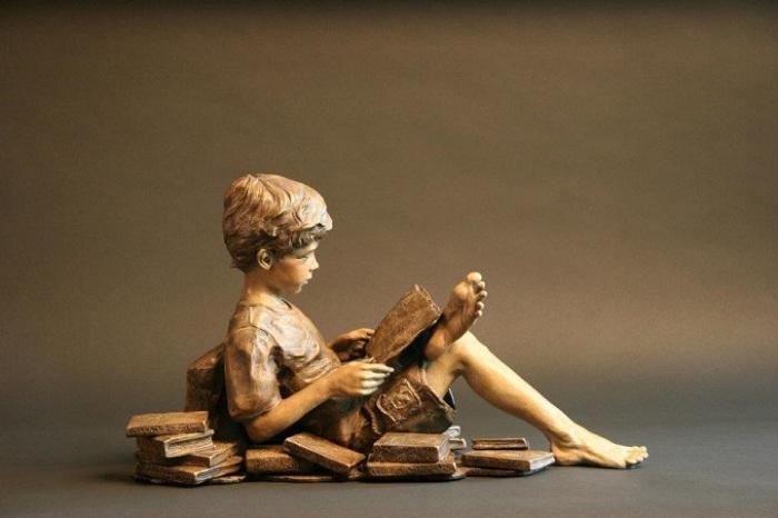 Потрясающе реалистичные скульптуры Анжелы Мия Де Ля Вега (Angela Mia De la Vega).
