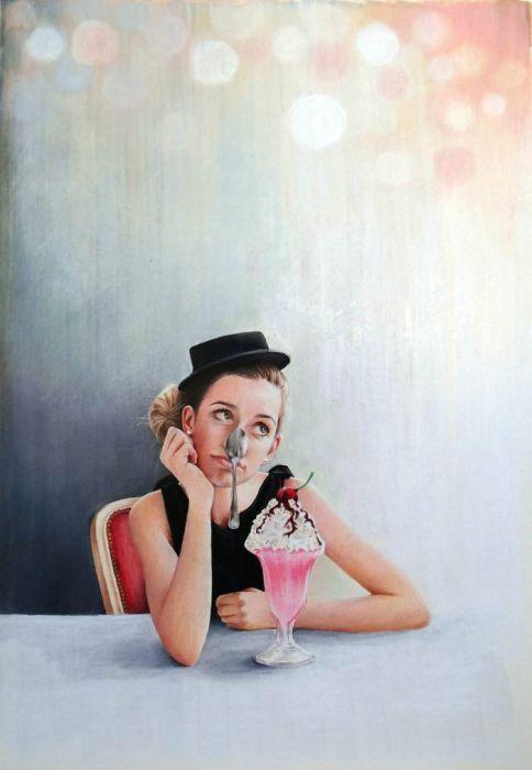 Невероятные работы Анны Хаммер (Anna Hammer).
