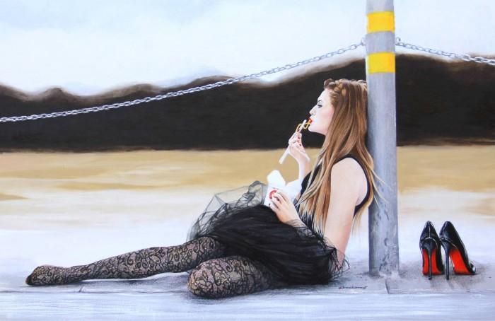 Фэшн-иллюстрации Анны Хаммер (Anna Hammer).