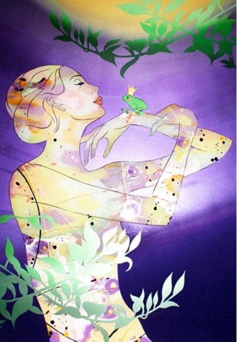 Принц лягушка. Автор: Annabelle Verhoye.