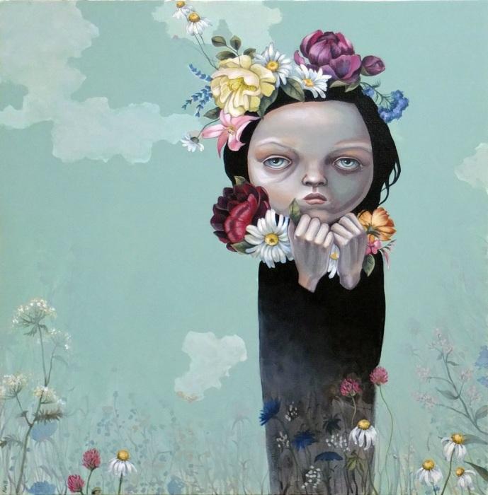 Цветы. Автор: Anne Angelshaug.