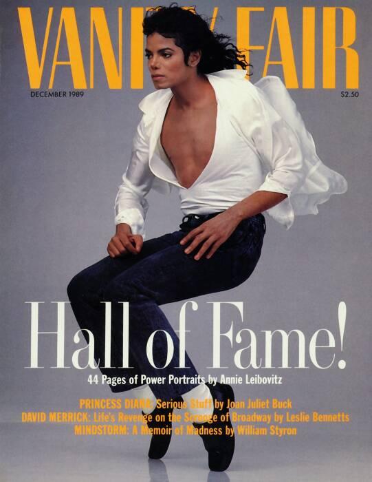 Майкл Джексон, Энни Лейбовиц. \ Фото: vanityfair.com.