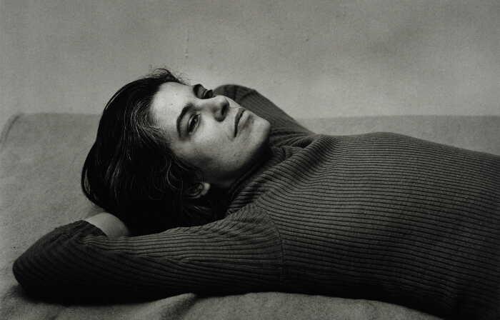 Портрет Сьюзен Сонтаг, 1975 год. \ Фото: thegoodhub.com.