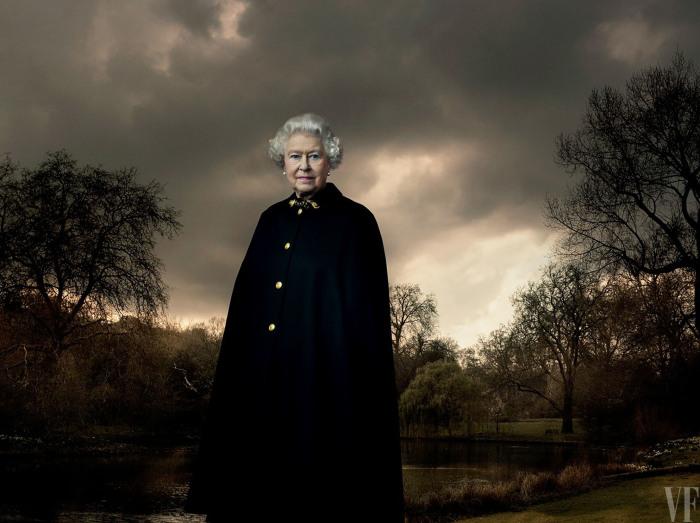 Королева Елизавета в свой День рождения (90-летие), Энни Лейбовиц. \ Фото: fotonerd.it. \ Фото: google.com.