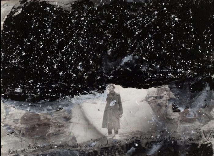 Уходя в звёздное небо, что надо мною... Автор: Anselm Kiefer.