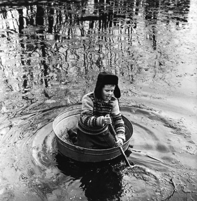 Моряк, 1973 год. Автор: Antanas Sutkus.