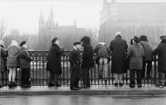 Высшая школа, 1959 год. Автор: Antanas Sutkus.