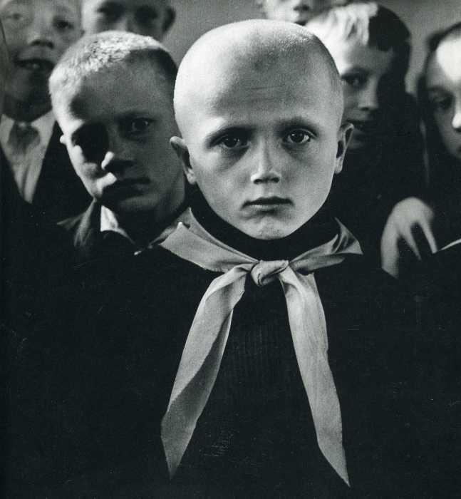 Пионер, 1964 год. Автор: Antanas Sutkus.