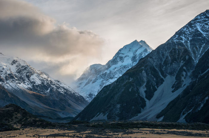 Маунт-Кук (Mount Cook). Автор фото: Энтони Харрисон (Anthony Harrison).