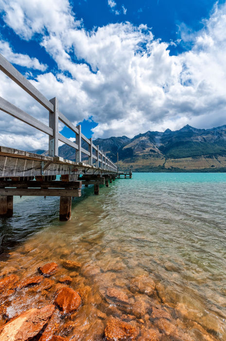 Пирс Гленорчи (Glenorchy Pier). Автор фото: Энтони Харрисон (Anthony Harrison).