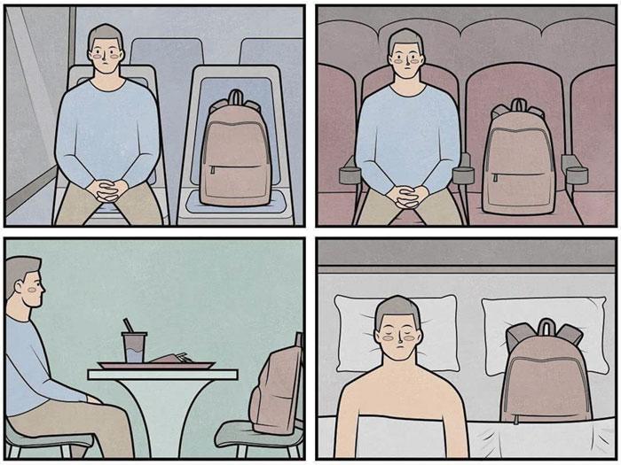 Я и мой верный рюкзак. Автор: Антон Гудим.