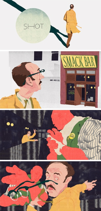 История о том, как я заглянул в бар. Автор: Anton Marrast.
