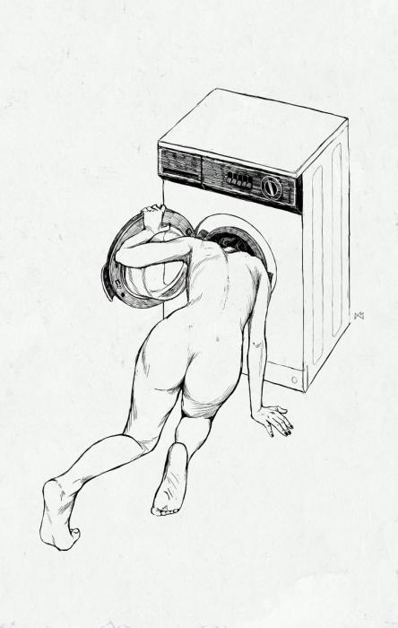 А потом я решила проверить теорию на практике... Автор: Anton Marrast.