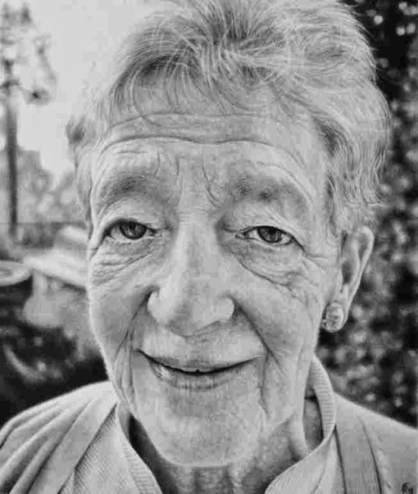 Портретные работы, выполненные карандашом. Автор работ: художник Антонио Финелли (Antonio Finelli).