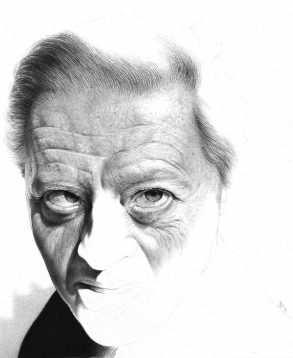 Гиперреалистичные портреты карандашом. Автор работ: художник Антонио Финелли (Antonio Finelli).