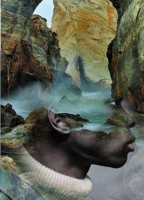 Разноцветные скалы. Автор: Antonio Mora.
