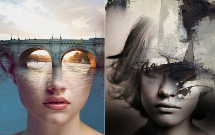 Слева направо: На закате дня и Отголоски прошлого. Автор: Antonio Mora.