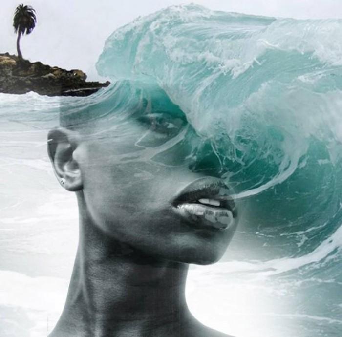 Бирюзовые волны. Автор: Antonio Mora.