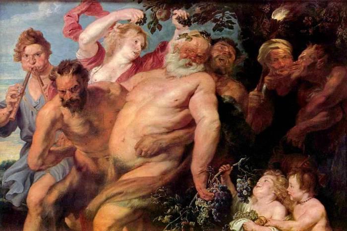 Триумф Силена. Автор: Антонис ван Дейк (Antoon van Dyck).