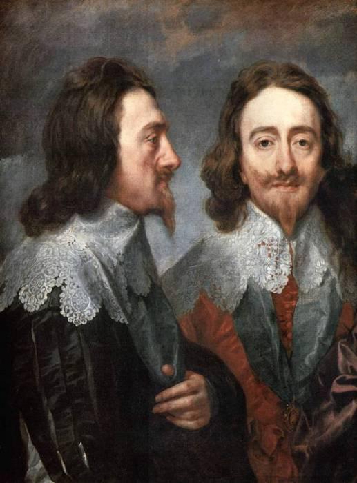 Карл 1, 1625 год. Автор: Антонис ван Дейк (Antoon van Dyck).