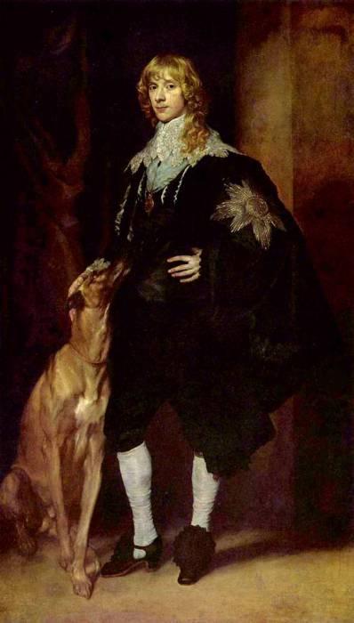 Джеймс Стюарт, герцог Леннокс и Ричмонд, приблизительно 1632 год. Автор: Антонис ван Дейк (Antoon van Dyck).