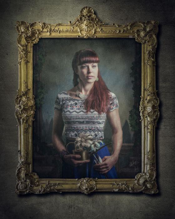 Ребекка Кларк, Зеленый Город. Автор работы: фотохудожник Антти Карппинен (Antti Karppinen).