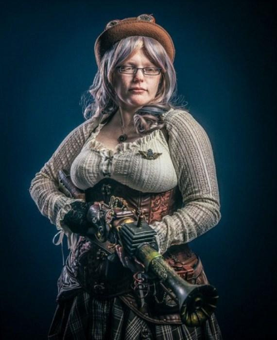 Steampunk (Стимпанк).  Автор работы: фотохудожник Антти Карппинен (Antti Karppinen).