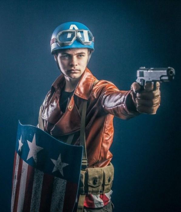 Captain America (Капитан Америка). Автор работы: фотохудожник Антти Карппинен (Antti Karppinen).