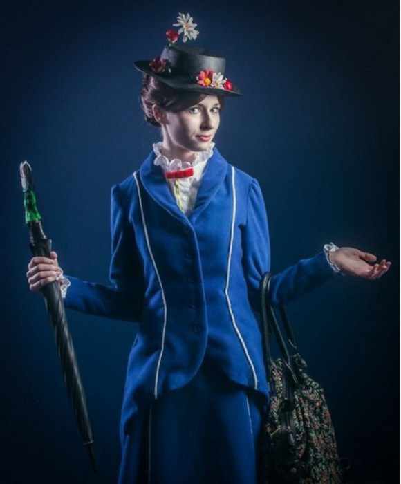 Mary Poppins (Мэри Поппинс). Автор работы: фотохудожник Антти Карппинен (Antti Karppinen).