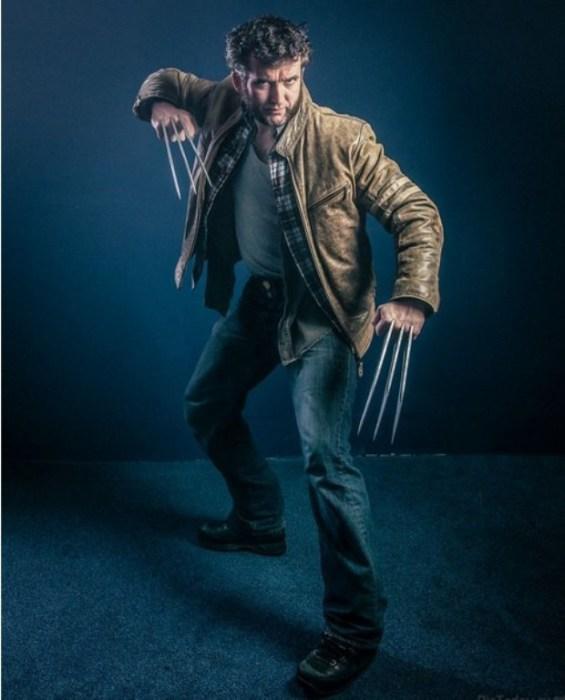 Wolverine (Росомаха). Автор работы: фотохудожник Антти Карппинен (Antti Karppinen).