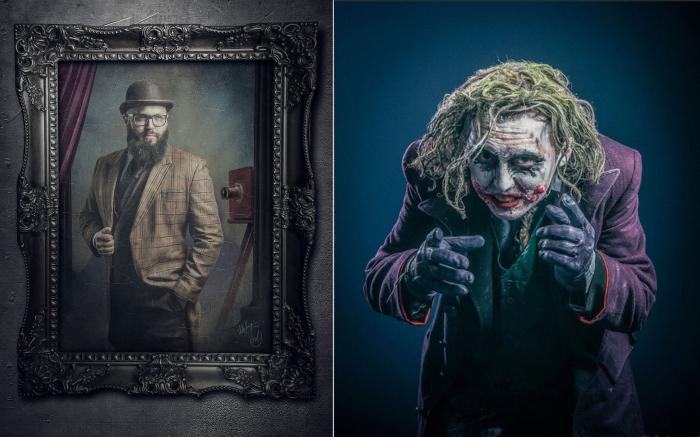 Портреты на новый лад. Автор работы: фотохудожник Антти Карппинен (Antti Karppinen).