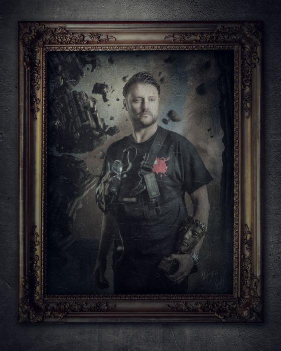Дэнни Харгривз, RealSFX. Автор работы: фотохудожник Антти Карппинен (Antti Karppinen).