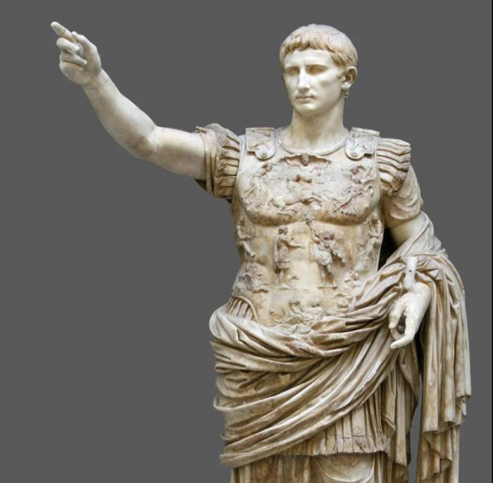 Статуя императора Августа из Прима Порта, 1 век нашей эры. \ Фото: google.com.
