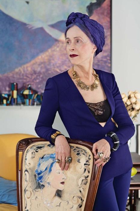 Благородная Беатрис, 73 года.