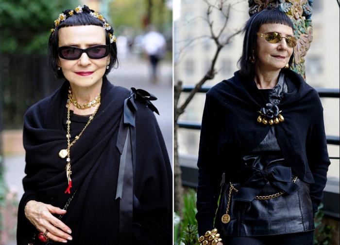 Стильная женщина в возрасте. Фото Ari Seth Cohen.