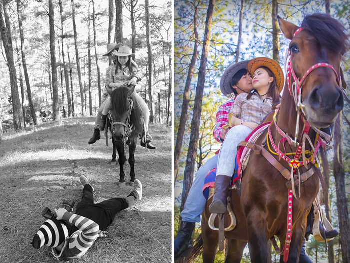 Прогулка на лошади. Автор: Arjanmar Rebeta.