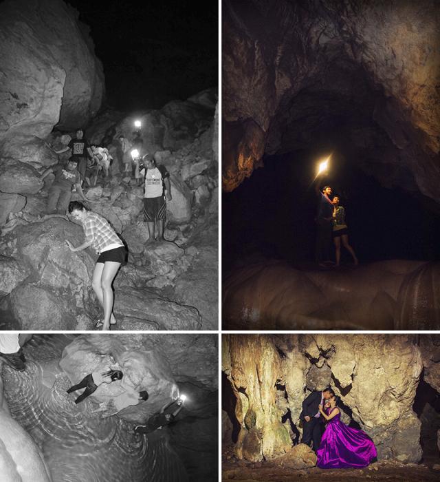 В пещере. Автор: Arjanmar Rebeta.